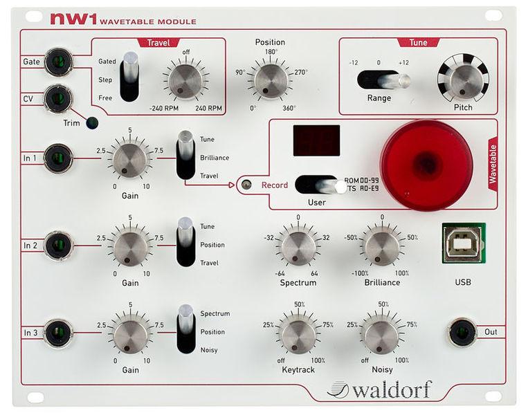 Waldorf nw1 Wavetable Oscillator