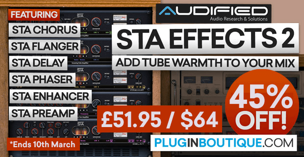45% OFF Audified STA Effects 2