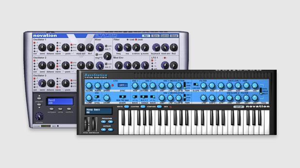 Novation Bass Station & V-Station Synthesizer Plugin