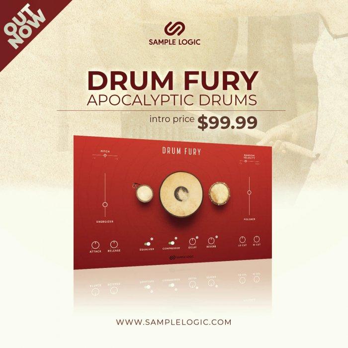 Sample Logic Drum Fury
