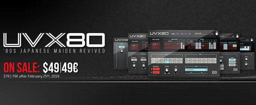 UVI UVX80 Sale