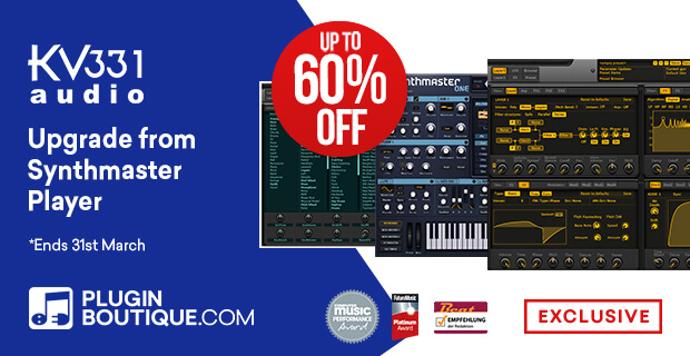 KV331 Audio Synthmaster Upgrade Sale
