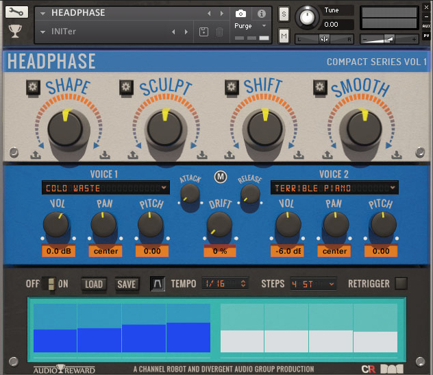Audio Reward Headphase V2