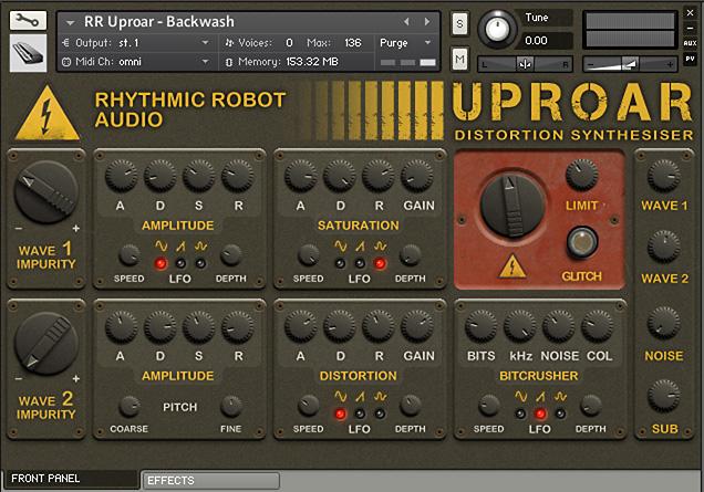 Rhythmic Robot Uproar