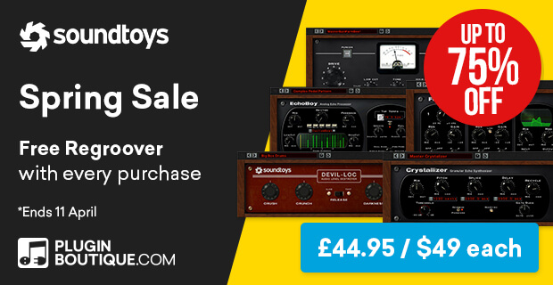 Soundtoys Spring Sale