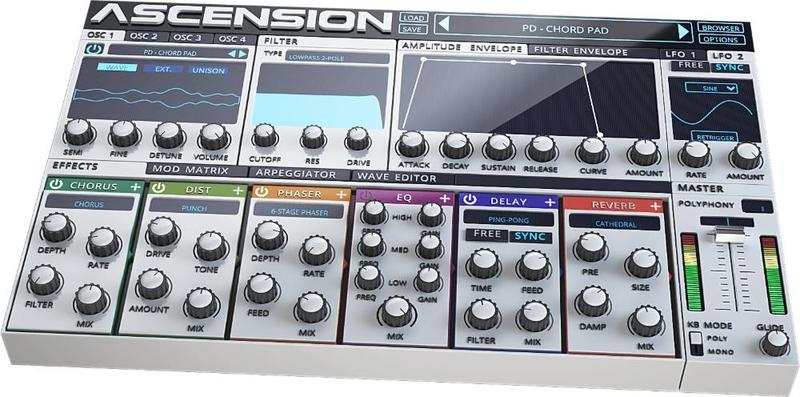 W.A Production Ascension Synthesizer