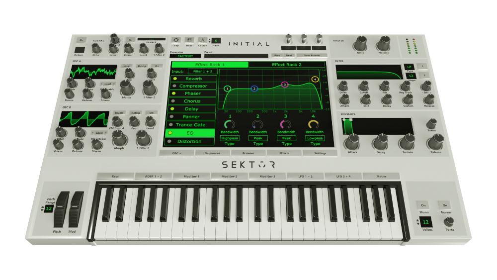 Initial Audio Sektor Synthesizer