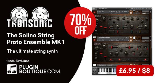 Tronsonic Solino String Proto Ensemble MK1