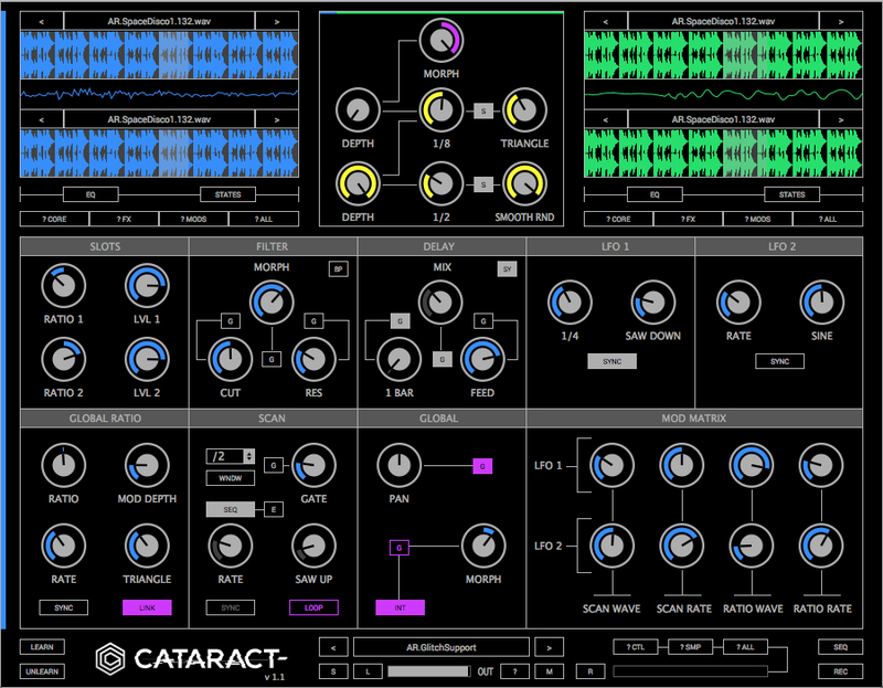 Glitchmachines Cataract Sampler