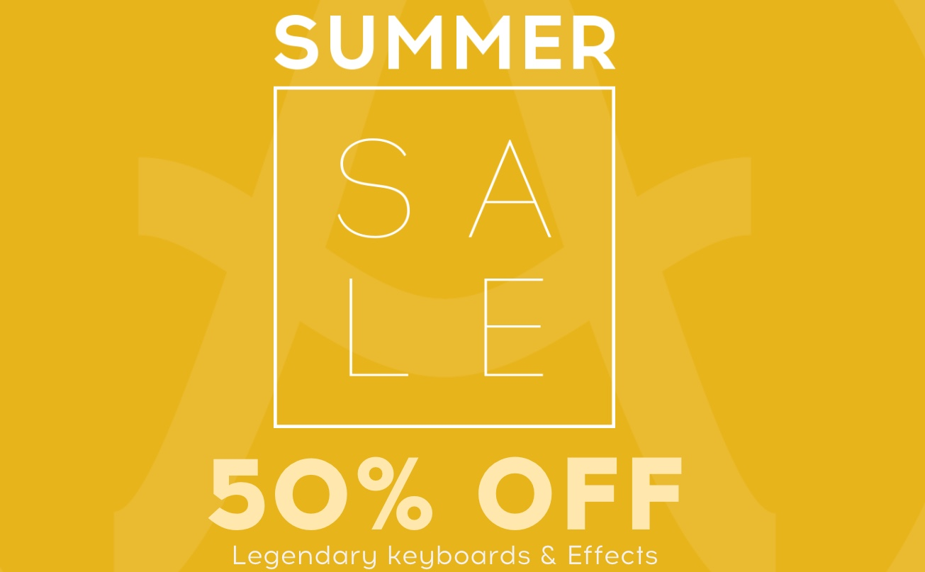Arturia Summer Sale, Save 50% OFF Synth, Keyboard & Effect Plugins