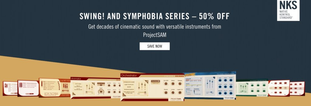 ProjectSam Swing! Symphobia Sale