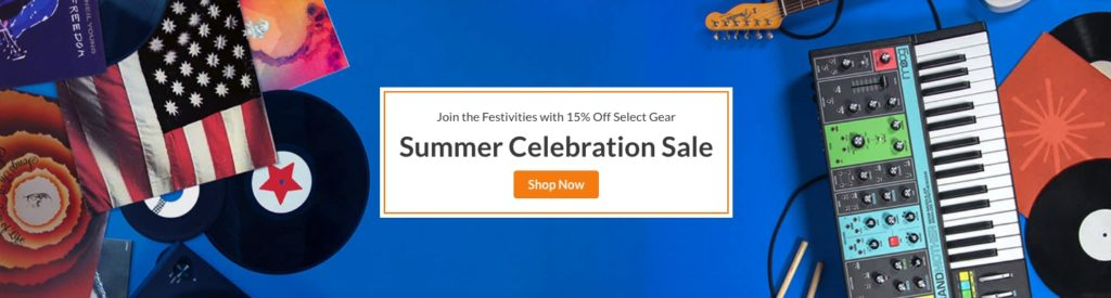 Reverb.com Summer Celebration Sale