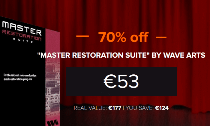 Waves Arts Master Restoration Suite