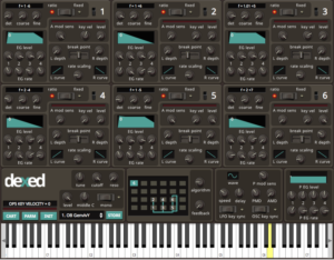Dexed FM Synthesizer