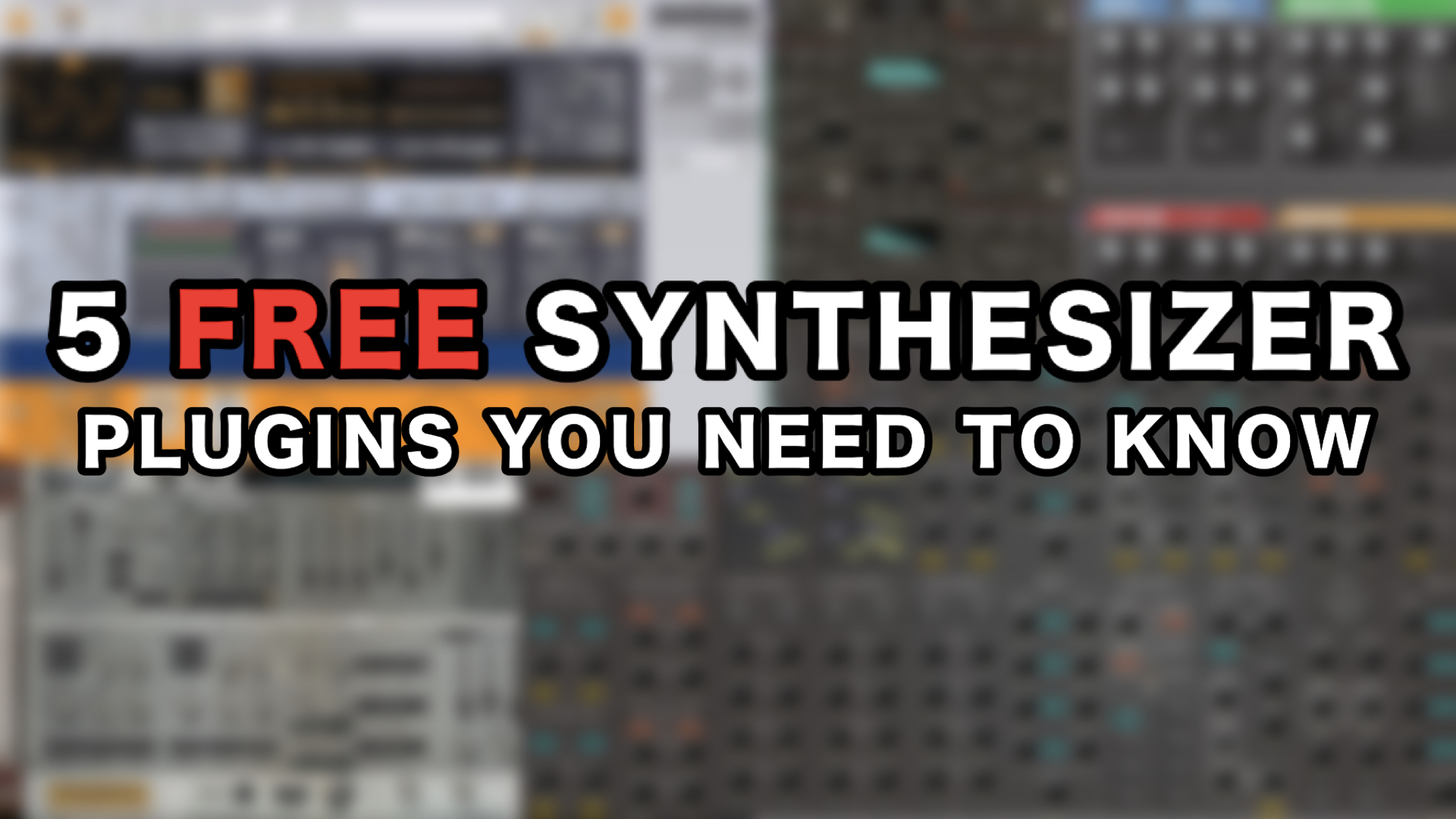 Best 5 Free Synthesizer Plugins For PC & Mac You Need To Know