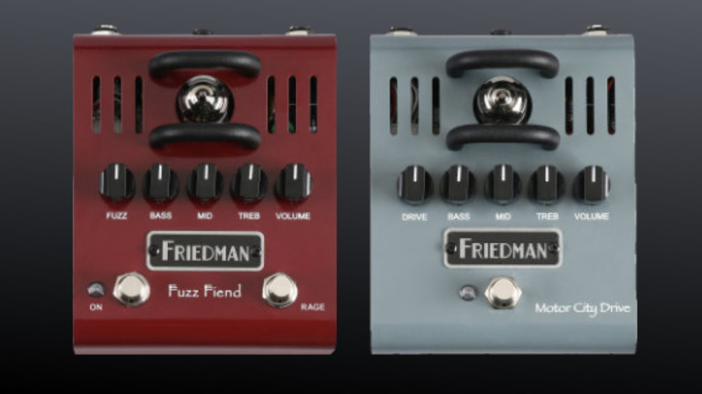 Friedman Fuzz Fiend & Motor City