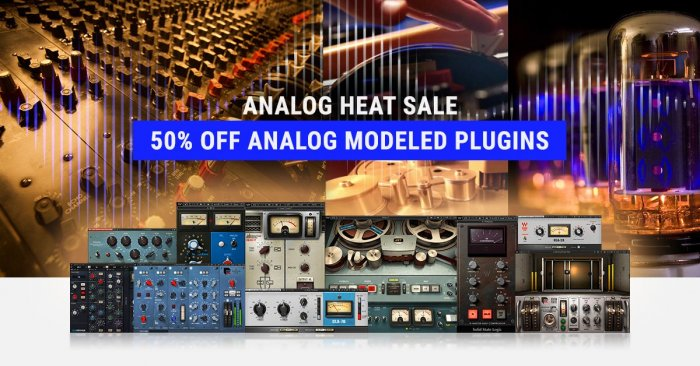 Waves Analog Heat Sale Started With 50% OFF Analog-Modeled