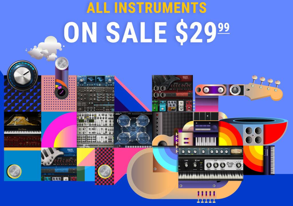 Waves Instruments Flash Sale
