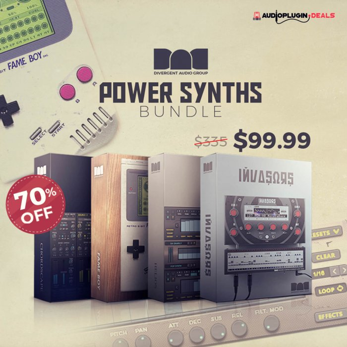 Divergent Power Synths Bundle