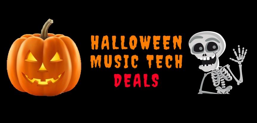 Halloween Music Tech Deals