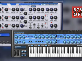 Novation V-Station & Bass Station Synthesizer Bundle