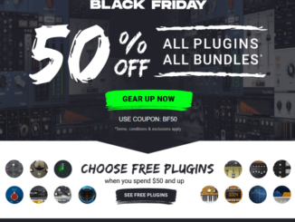 Waves Audio Black Friday