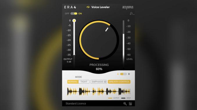 Accusonus ERA 4 Voice Leveler