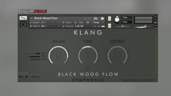 Klang Symphonic Black Wood