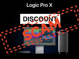 Logic Pro X Scam