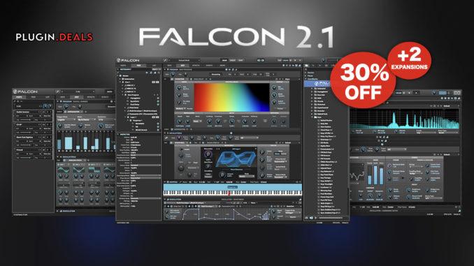 UVI Falcon 2.1 plugin deal