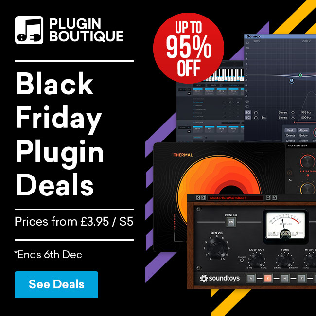 Black Friday Plugin Deals