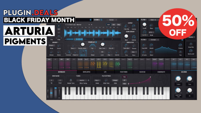 Arturia Pigments Black Friday Sale