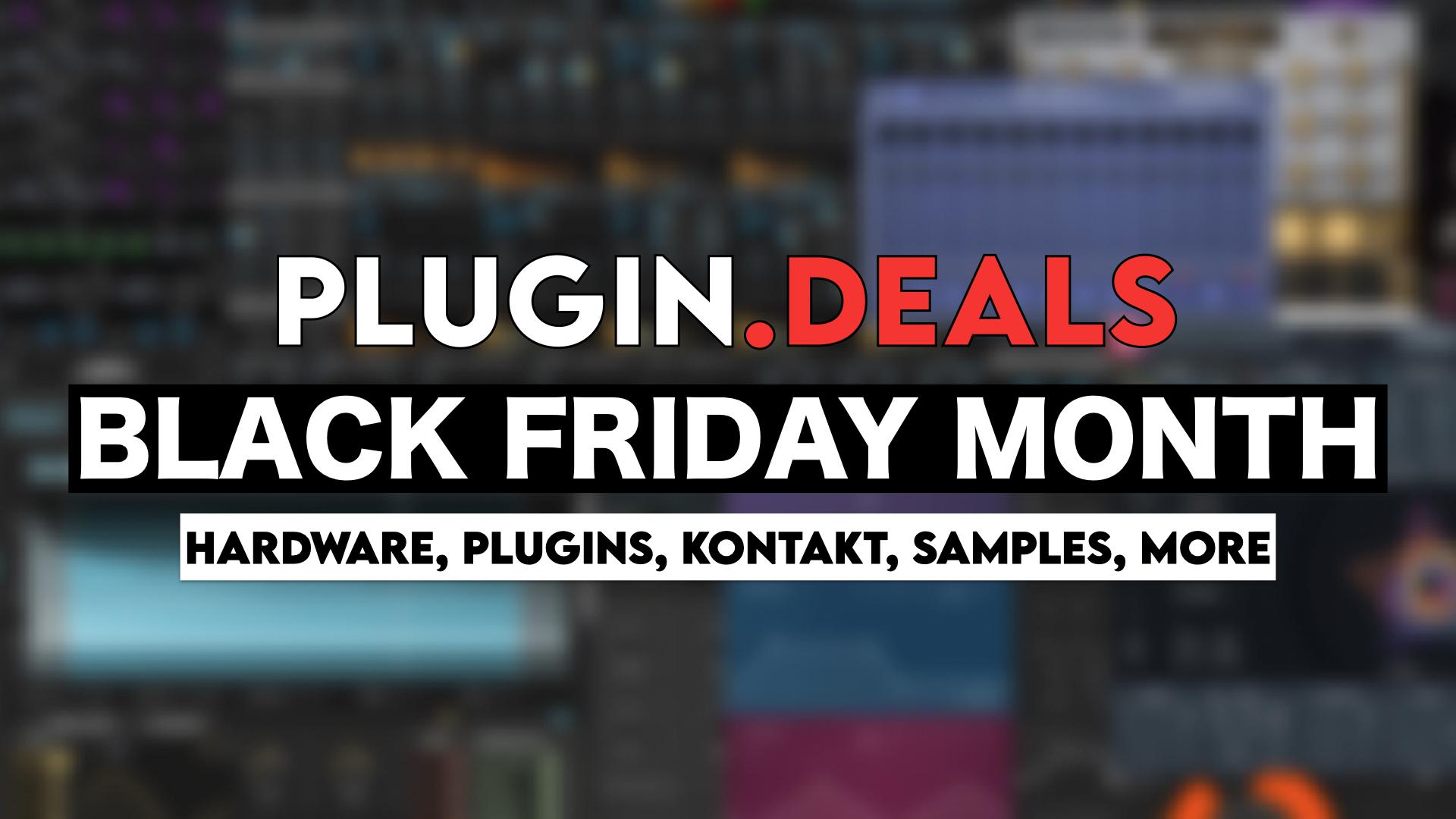 Best Black Friday Plugin Deals Music Tech Discounts 2020