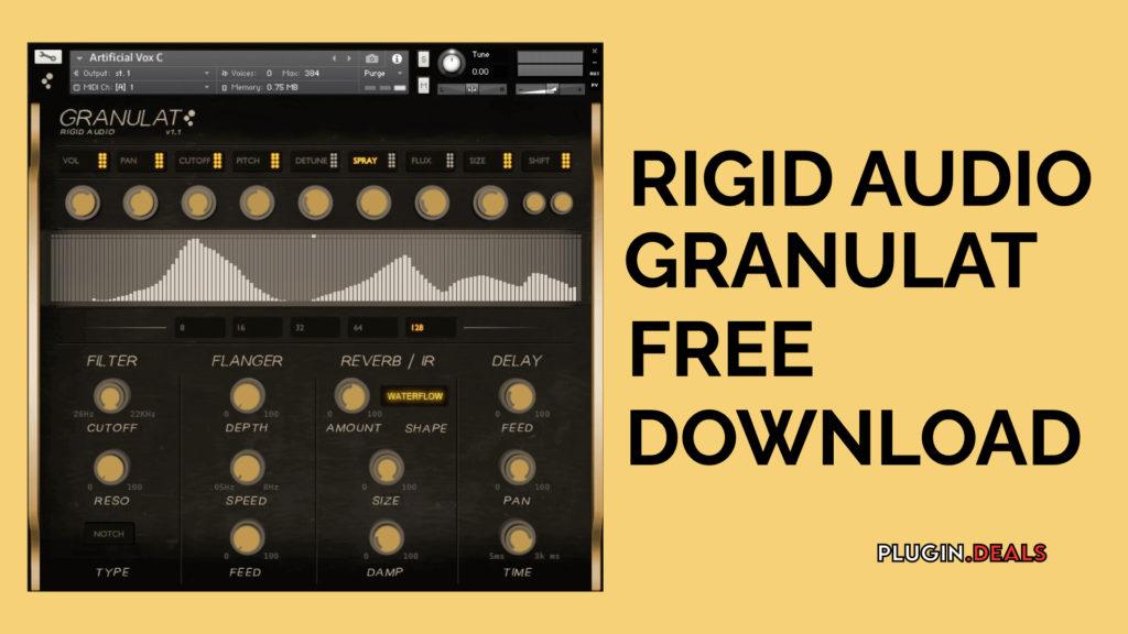 Rigid Audio Granulat