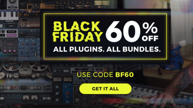 Waves Audio Black Friday Sale