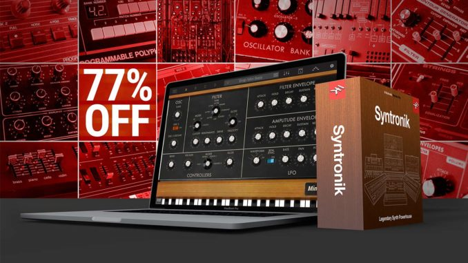 IK Multimedia Syntronik Krazy Deal