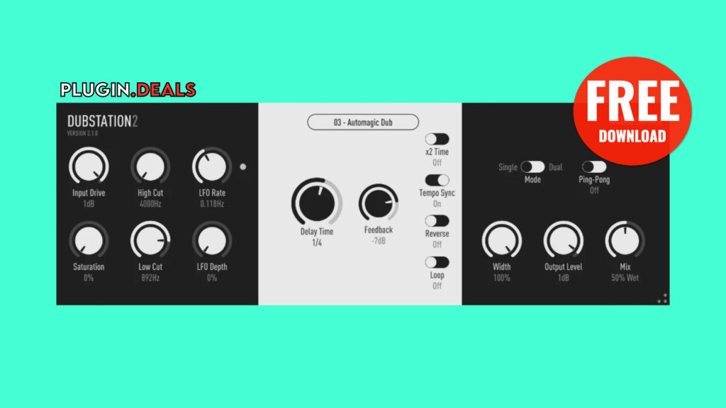 Audio Damage Dubstation 2 Plugin Deals