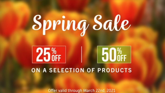 UVI Spring Sale