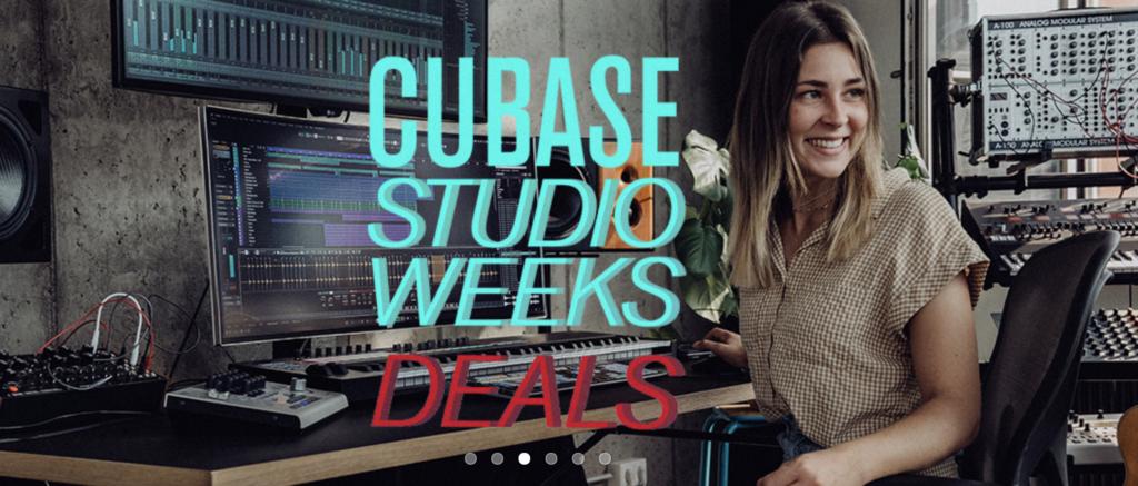 Steinberg Cubase Studio Weeks Deals