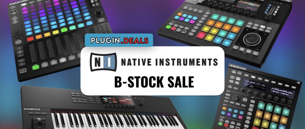 Native Instruments B-Stock Sale