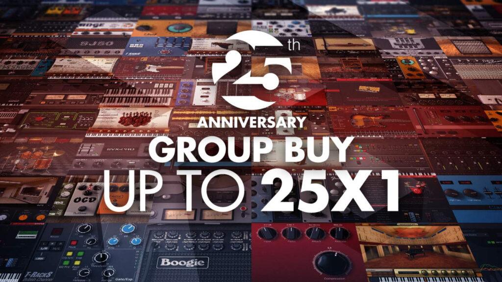IK Multimedia 25th group buy