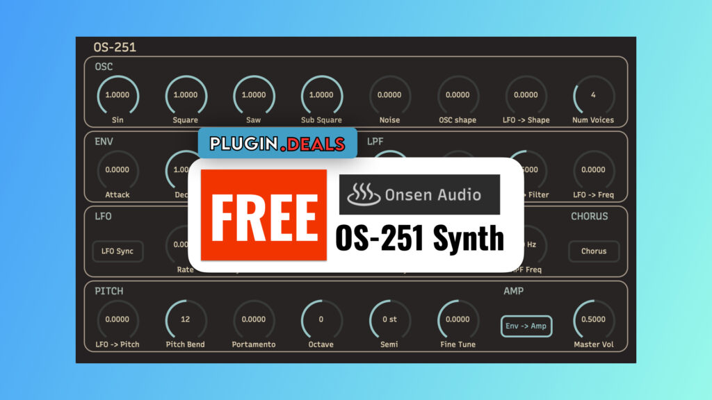 Onsen Audio OS-251 Synth