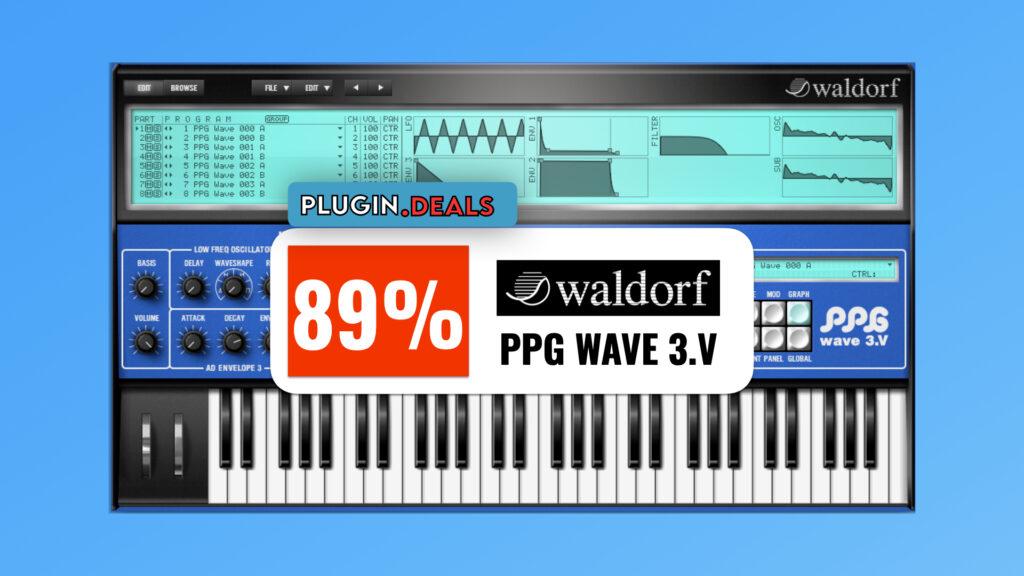 Waldorf PPG Wave 3.V plugin deals