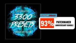 Patchmaker 3300 Presets Anniversary Bundle